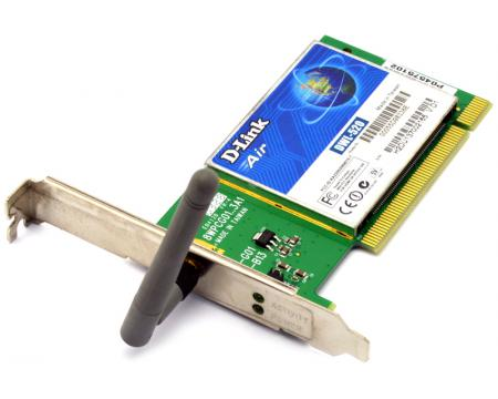 AIR DWL 520 WIRELESS PCI ADAPTER DRIVERS