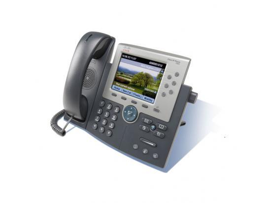 Cisco Unified 7965G Charcoal Gigabit IP Display Speakerphone