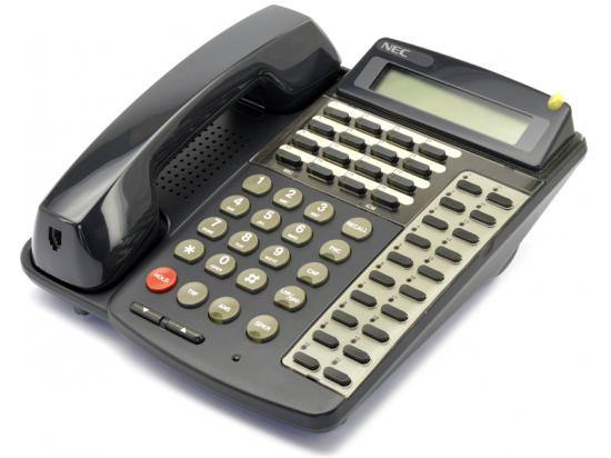 NEC Electra Professional ETW-16DD-2 16-Button Black Digital Display Speakerphone (730215)