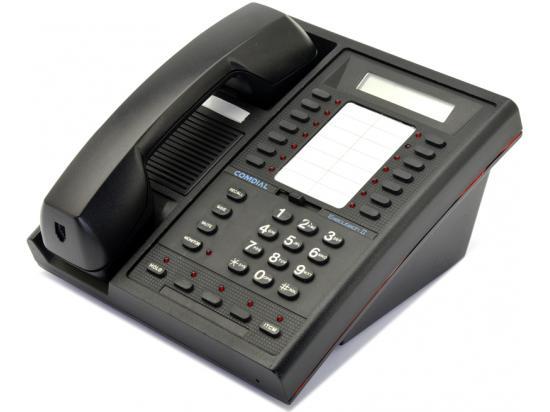 Comdial Digitech 7700S-FB 17-Button Black LCD Speakerphone