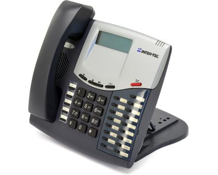 Inter-tel Axxess 550.8520 Charcoal Display Phone