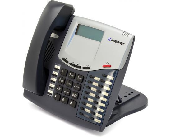 Inter-tel Axxess 550.8520 Charcoal Display Phone - Grade A