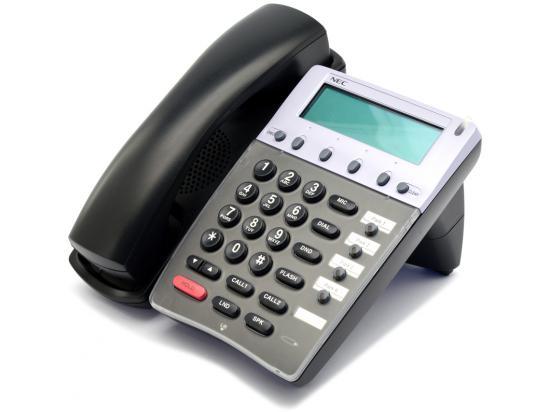 NEC Aspire IP1NA-4TIXH 4 Button Black VoIP Telephone (0890072)