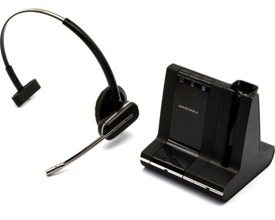 Plantronics WO2 SAVI W740 Convertible Wireless DECT Monaural Headset System - Grade B