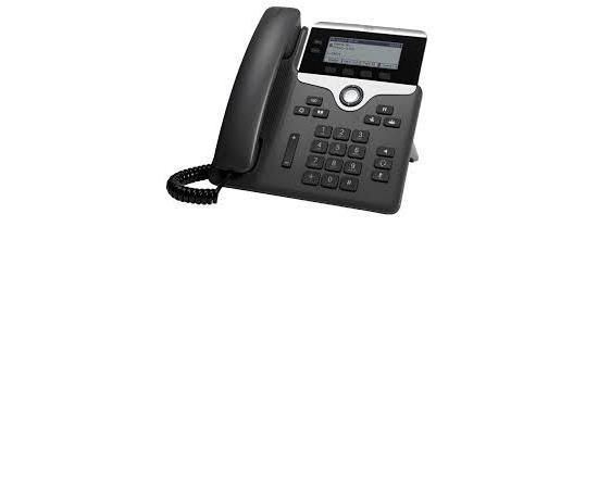 Cisco CP-7821 Charcoal Gigabit IP Display Speakerphone - Grade B