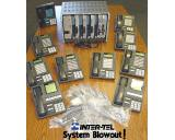 Inter-Tel Axxess Digital Phone System w/Voice Mail and 10 Phones