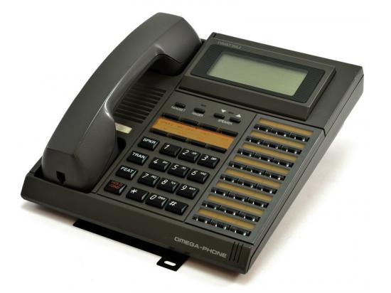Iwatsu Omega-Phone ADIX IX-24KTD-SP 24 Button Grey Display Speakerphone (104061)