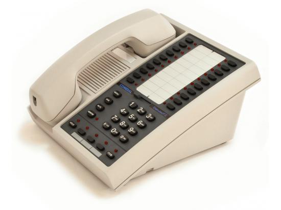 Comdial Executech II 6620 Pearl Grey 20-Button Non-Display Phone - Grade A