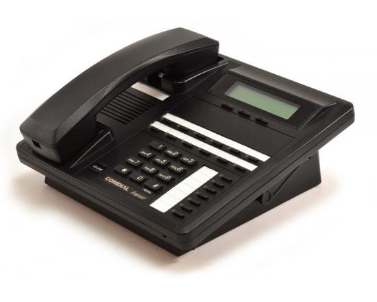 Comdial Impact SCS 8312SJ-FB Black Display Speakerphone w/ Headset Jack