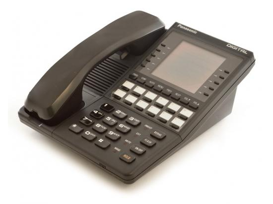 Panasonic VB-43225 Black Digital Display Speakerphone
