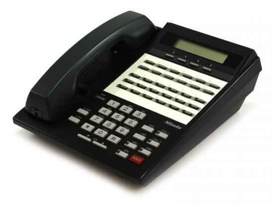 NEC Nitsuko 124i/384i 28-Button Black Display Speakerphone (92763)