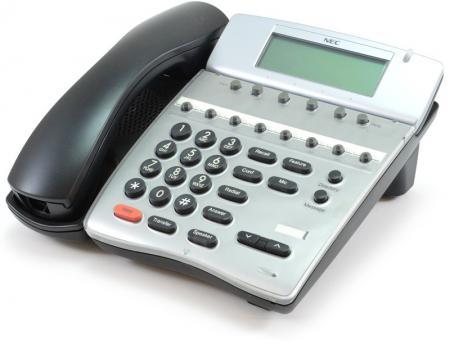 NEC DTH-8D-2 Black Display Speakerphone (780571)