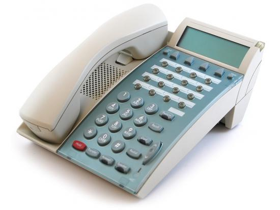 NEC Dterm Series E DTP-16D-1 White Display Speakerphone