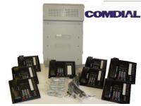 Comdial Impact DSU II Phone System w/8 Phones - Grade A