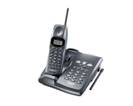 SBC / Uniden EXI2926 900MHz 2-Line Cordless Gray Phone