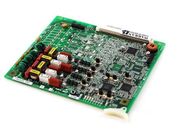 NEC Electra Elite IPK COIB(4)-U30 CO Line Card w/ Caller ID (750449)