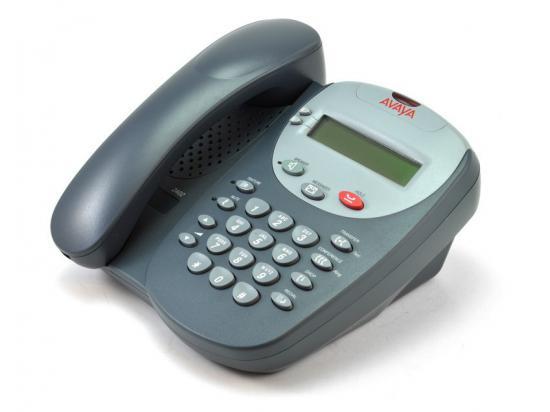 Avaya 2402 Black Digital Display Speakerphone - Grade A