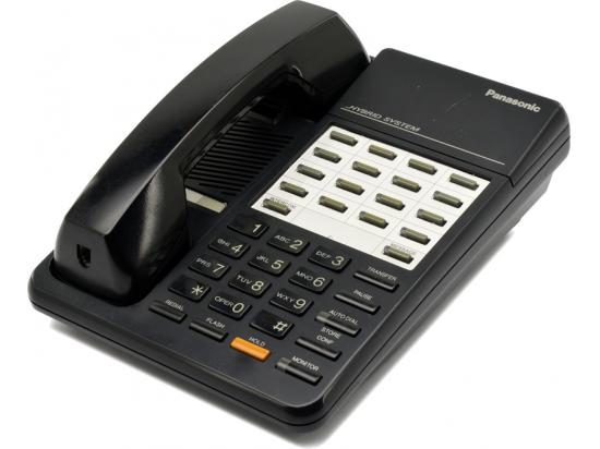 "Panasonic Hybrid System KX-T7050 Black 12 Button Telephone ""Grade B"""