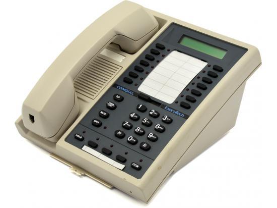 Comdial Executech II 6600E-PG Pearl Grey Multi-line LCD Speakerphone