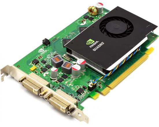 PNY Technologies Nvidia Quadro FX 380 256MB DDR3 Graphics Card - Low Profile
