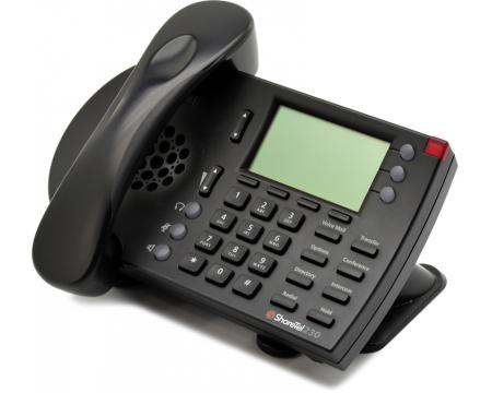 "ShoreTel 230 Black IP Phone ""Grade B"""