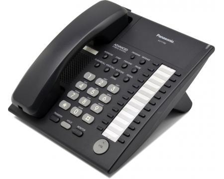 panasonic kx t7750 black 24 button intercom phone rh pcliquidations com Panasonic Kx- Tg270 Sim Panasonic Cordless Phone User Manual