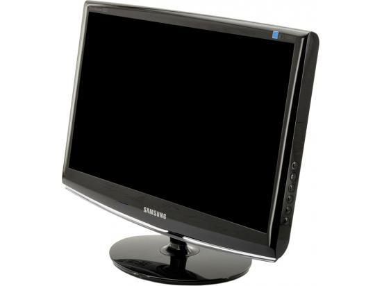"Samsung 2033SW SyncMaster 20"" Black Widescreen LCD Monitor - Grade C"