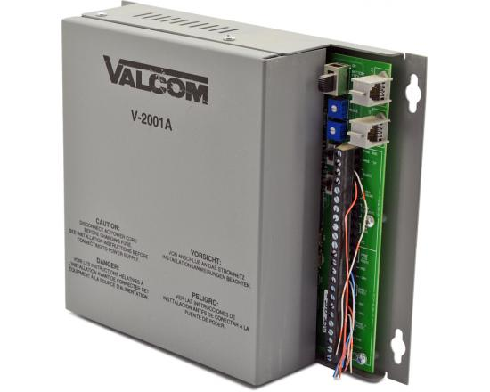 Valcom V-2001A One Zone Enhanced Page Control with Built-In Power