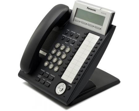"Panasonic KX-DT343-B Charcoal Backlit Display Phone ""C-Stock"""