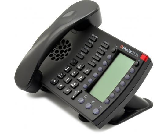 ShoreTel 212k Black IP Phone IP212k