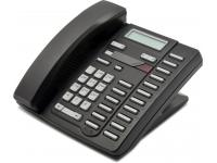 Nortel Aastra M9216E Black Single Line Phone - Charcoal