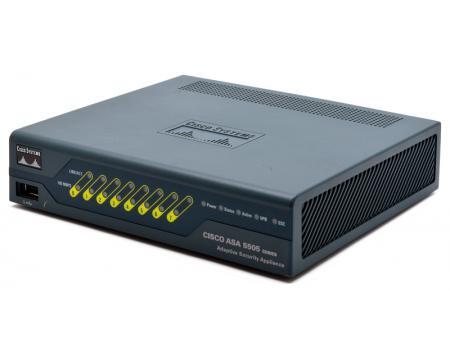 Cisco ASA5505-BUN-K9 8-Port 10/100 Security Appliance