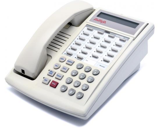 Avaya Euro Partner 18D 16-Button White Digital Display Speakerphone - Grade A