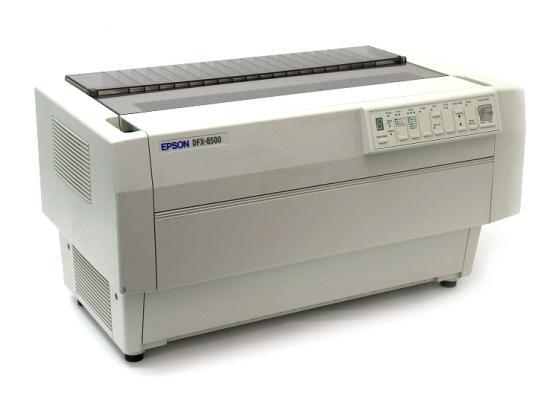 Epson DFX-8500 Parallel Serial 9-Pin Dot Matrix Impact Printer (C204001) - White