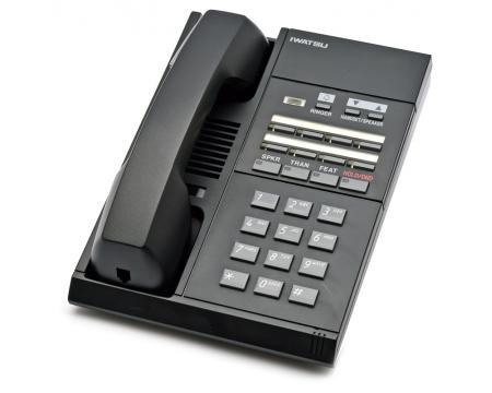 Iwatsu IX-MKT 104076 8-Button Black Telephone - Grade B