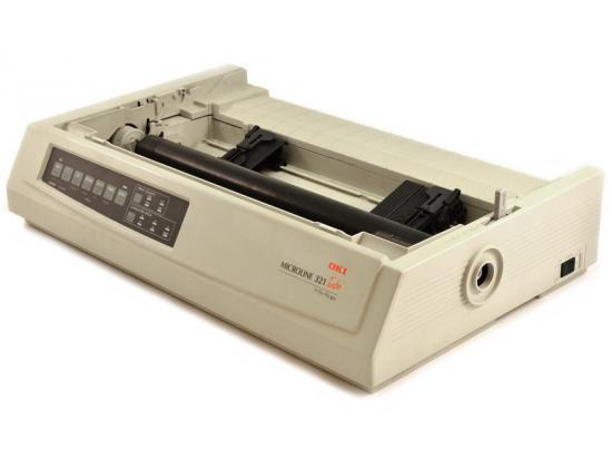 Okidata Microline 321 Turbo USB Dot Matrix Printer (62411701) - No Accessories - Grade A
