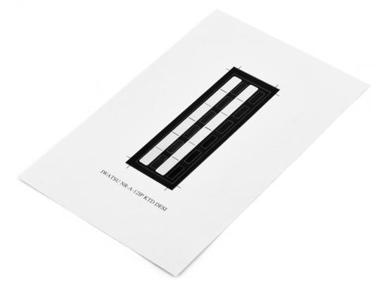 Iwatsu Omega-Phone ADIX NR-A-12SKTD Paper DESI