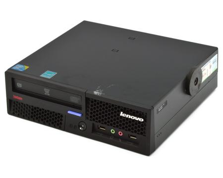 Lenovo ThinkCentre M58p USFF Computer Intel Core 2 Duo (E8400) 3.0GHz 2GB DDR3 250GB HDD