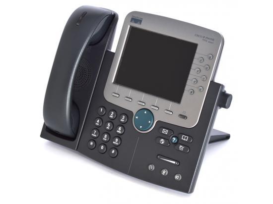 Cisco CP-7971G-GE Charcoal Gigabit IP Display Speakerphone - Grade B
