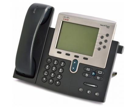 Cisco CP-7962G Charcoal IP Display Speakerphone - Grade C