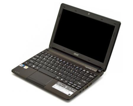 Acer Aspire One D270 1375 Intel Atom N2600 16GHz 1GB Memory No HDD