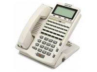 Iwatsu ADIX IX-12IPKTD 12-Button White IP Display Phone (104281)