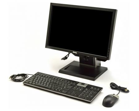 "Dell Optiplex 780 USFF Intel Core 2 Duo (E7500) 2.93GHz 4GB DDR3 250GB HDD 19"" LCD Complete System"