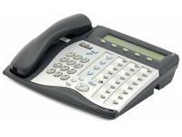 Tadiran Coral Flexset 280S Charcoal Display Phone - Silver Face