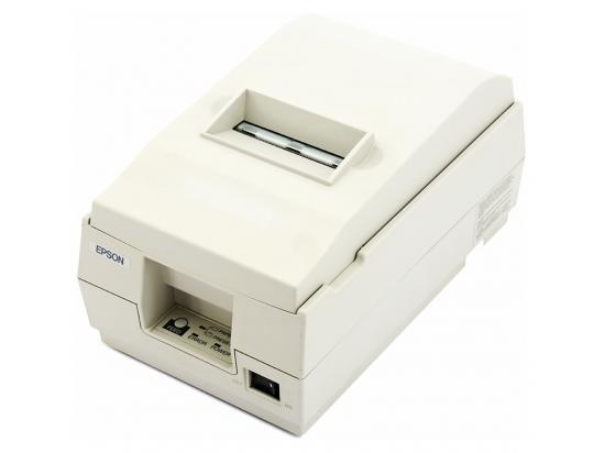 Epson TM-U200PD Serial 9-pin Impact Dot Matrix Receipt Printer (M119D) - White