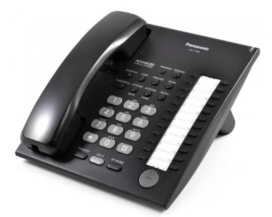 Panasonic KX-T7720 Black Non-Display Speakerphone