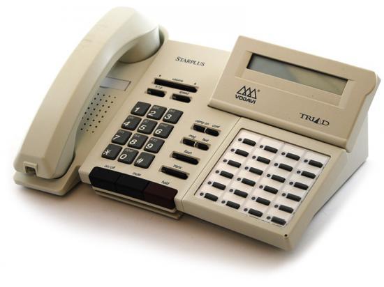 Vodavi Starplus Triad TR9015-08 24-Button White Display Speakerphone - Grade A