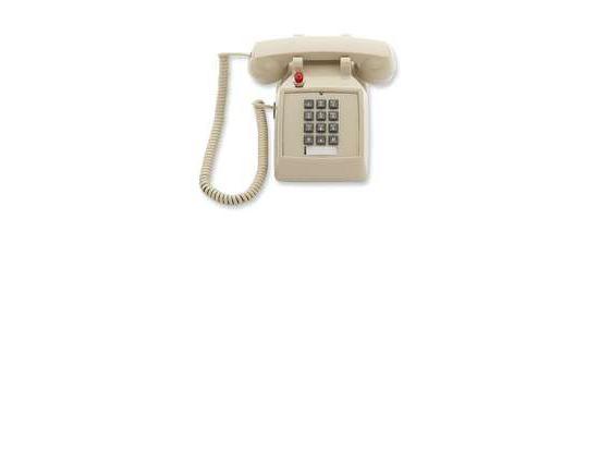 Scitec 2510D Ash Desk Phone w/ Ringer/Msg Light