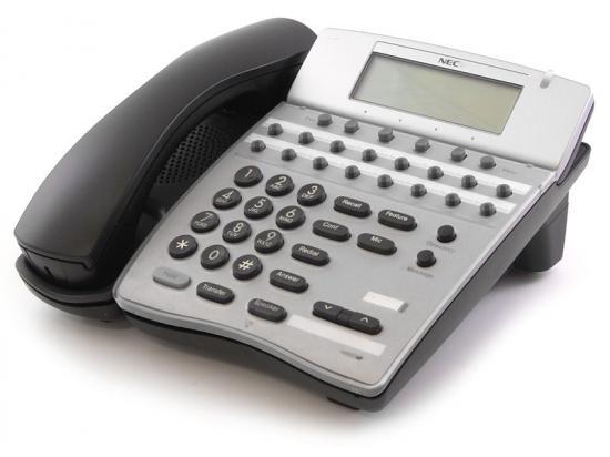 NEC Elite IPK DTH-16D-2 16 Button Black Display Speakerphone (780575)