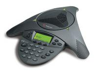 "Polycom SoundStation VTX 1000 Conference Phone w/ Power Module (2200-07300-001, 2201-07142-001) ""Grade B"""